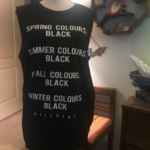 """""""If you love the color black"""" comfy tank"""